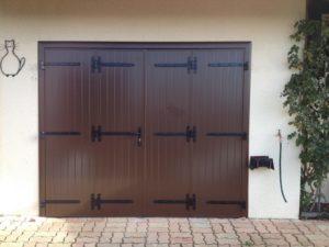 Porte de garage en Aluminium isolé 4 vantaux